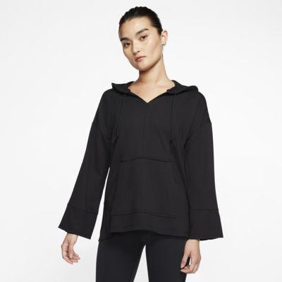 Sweat à capuche Nike Yoga Luxe pour Femme