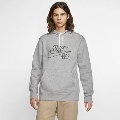 Felpa pullover da skateboard con cappuccio Nike SB - Uomo