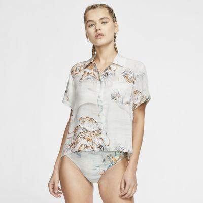 Hurley Getaway Printed Women's Short-Sleeve Top