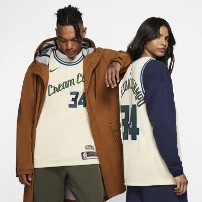 Maglia Giannis Antetokounmpo Bucks - City Edition Swingman Nike NBA