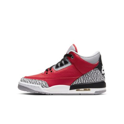 Air Jordan 3 Retro SE Big Kids' Shoe