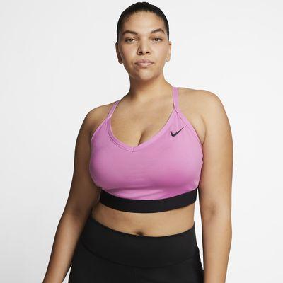Brassière de sport à maintien léger Nike Indy pour Femme (grande taille)