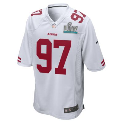 NFL San Francisco 49ers Super Bowl LIV (Nick Bosa) Men's Game Football Jersey