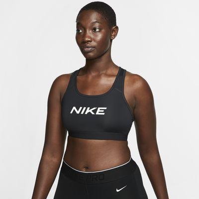 Brassière de sport à maintien normal Nike Swoosh pour Femme