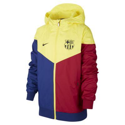 FC Barcelona Windrunner Big Kids' Jacket