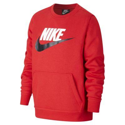 Nike Sportswear Club Fleece genser til store barn (gutt)