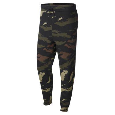 Pantalones camuflados de tejido Fleece Jordan Jumpman