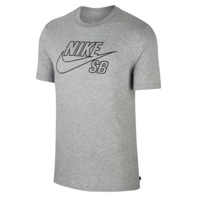 T-shirt da skateboard con logo Nike SB - Uomo