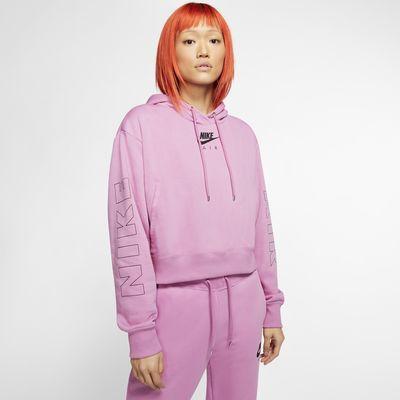 Sweat à capuche en tissu Fleece Nike Air pour Femme