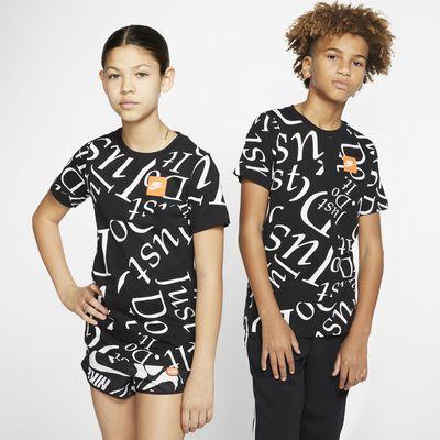 Εμπριμέ T-Shirt Nike Sportswear για μεγάλα παιδιά
