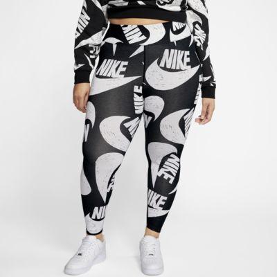 Nike Sportswear Icon Clash Women's Printed Leggings (Plus Size)
