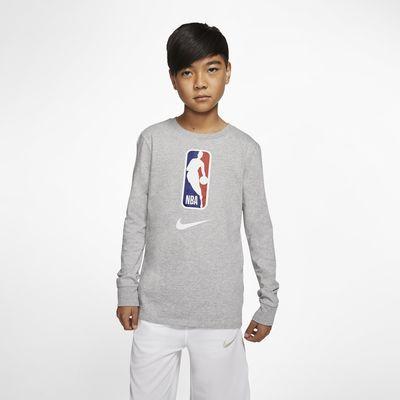 Team 31 Nike Dri-FIT NBA-kindershirt met lange mouwen