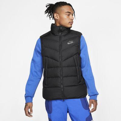 Ανδρικό αμάνικο τζάκετ με γέμισμα από πούπουλα Nike Sportswear