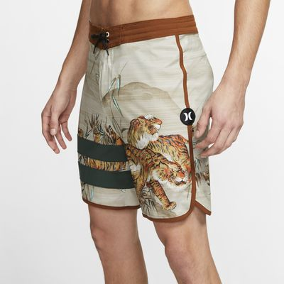 "Shorts da surf 18"" Hurley Phantom Block Party Tiger Style - Uomo"