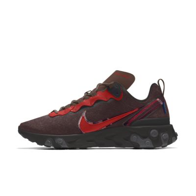 Nike React Element 55 Pendleton By You Custom Men's Shoe