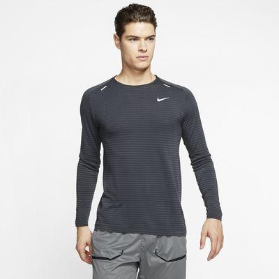 Nike TechKnit Ultra Langarm-Laufoberteil für Herren