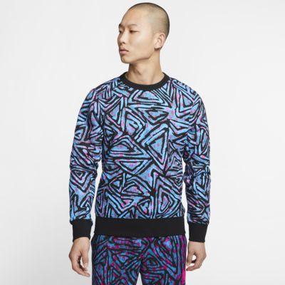Camiseta de cuello redondo de skateboarding estampada para hombre Nike SB