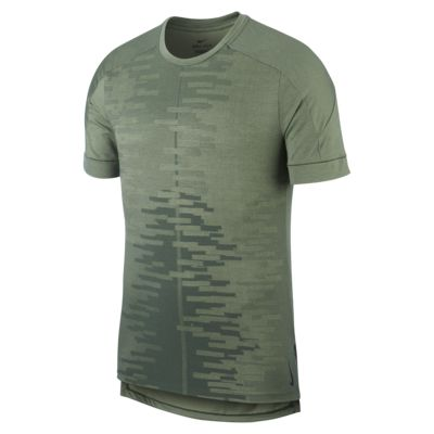 Kortärmad tröja Nike Yoga för män