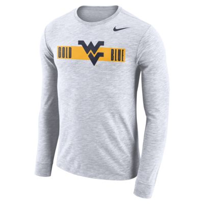 Nike College Dri-FIT (West Virginia) Men's Long-Sleeve T-Shirt