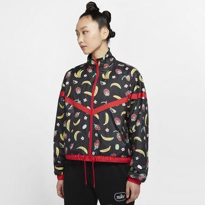 【ナイキ直営店 / Nike.com限定】ナイキ スポーツウェア ウィメンズ ウーブン プリンテッド ジャケット