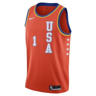 Zion Williamson All-Star USA 'Rising Stars' Nike NBA Swingman Jersey