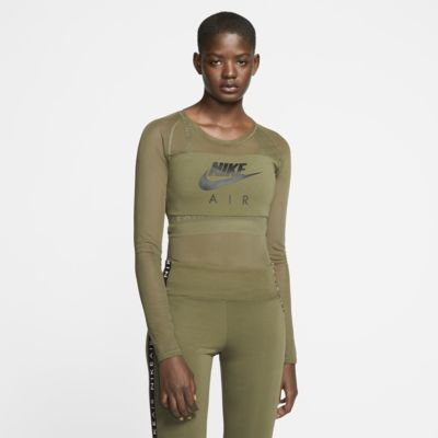 Nike Air Women's Long-Sleeve Mesh Bodysuit