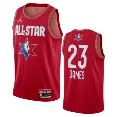 Lebron James All-Star Jordan NBA Swingman 球衣