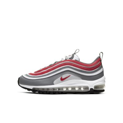 nike air max 97 grey and red
