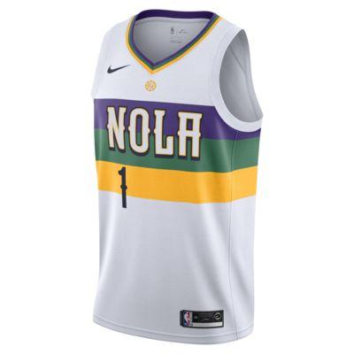 Maglia Zion Williamson Pelicans City Edition Swingman Nike NBA