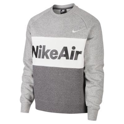 Maglia a girocollo in fleece Nike Air - Uomo