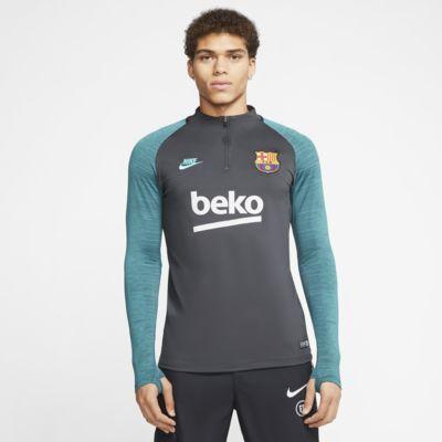 Nike Dri-FIT FC Barcelona Strike Drill-Fußballoberteil für Herren