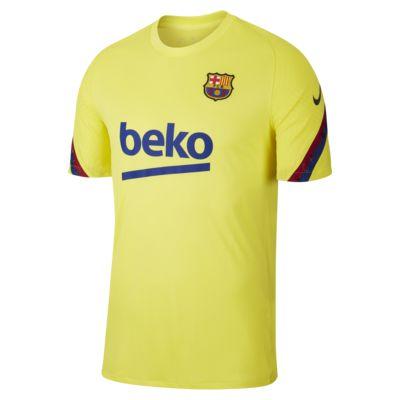 Ανδρική κοντομάνικη ποδοσφαιρική μπλούζα FC Barcelona Strike