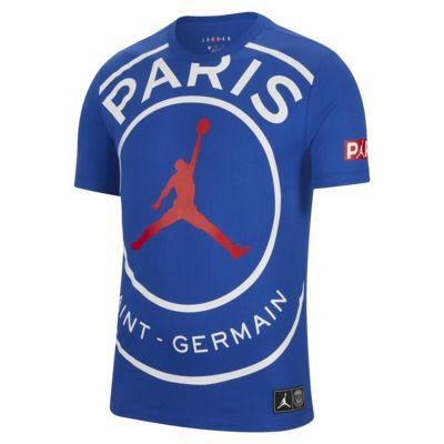 เสื้อยืดผู้ชายแบบมีโลโก้ Paris Saint-Germain