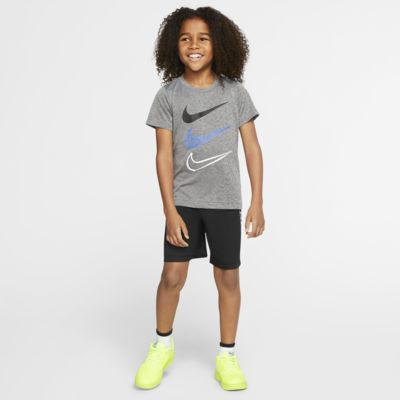 Nike Dri-FIT Little Kids' T-Shirt and Shorts Set