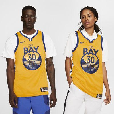 Maglia Stephen Curry Warriors Statemen Edition Swingman Nike NBA