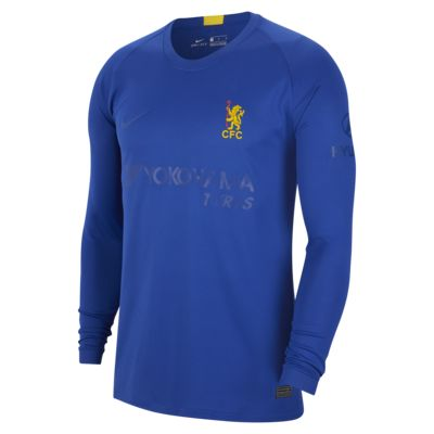 Chelsea FC Stadium Cup Men's Long-Sleeve Football Shirt