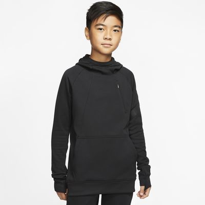 Nike Dri-FIT Academy Pro Older Kids' Pullover Football Hoodie