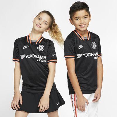 Chelsea FC 2019/20 Stadium Third fotballdrakt til store barn