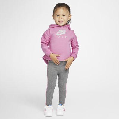Nike Air-sæt med hættetrøje og leggings til babyer (12-24 M)