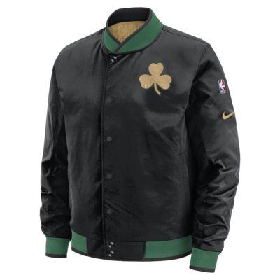 波士顿凯尔特人队 City Edition Nike NBA 男子双面穿夹克