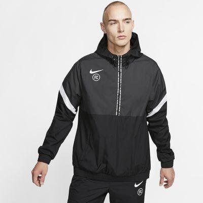 Nike F.C. fotballjakke til herre