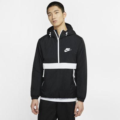 Nike Sportswear Synthetic-Fill 男子半长拉链开襟连帽上衣