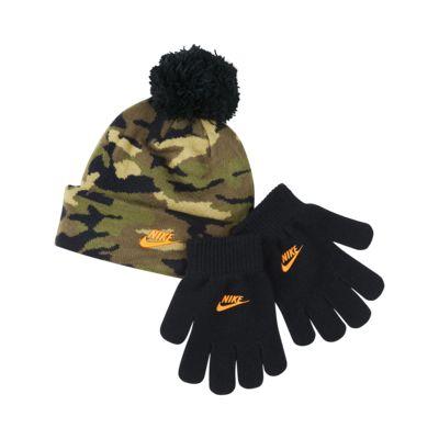 Nike Kleuterset met beanie en handschoenen