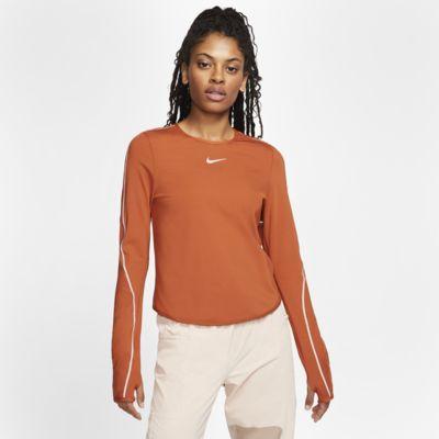 Damska koszulka z długim rękawem do biegania Nike