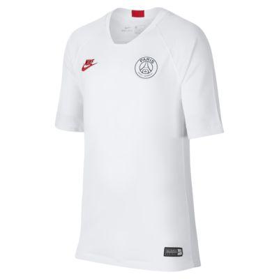 Игровая футболка с коротким рукавом для школьников Nike Breathe Paris Saint-Germain Strike