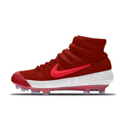 Calzado de béisbol personalizado Nike Alpha Huarache Elite 2 Mid MCS Premium By You