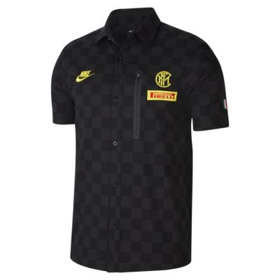 Inter Milan Team Crew Men's Short-Sleeve Top