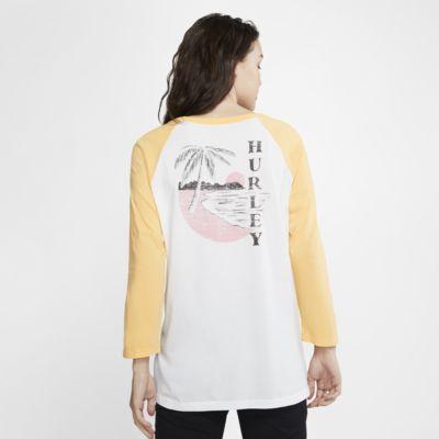 Hurley Paia Circle Women's 3/4-Sleeve T-Shirt