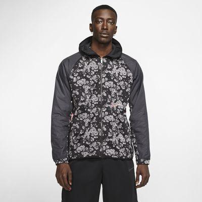 Felpa da basket con cappuccio Nike Therma - Uomo