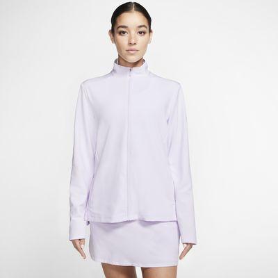 Nike Dri-FIT UV Victory Damen-Golf Jacke mit durchgehendem Reißverschluss